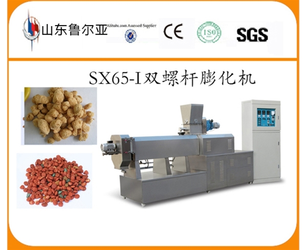 SX65-I Double Screw Extruder for protein food