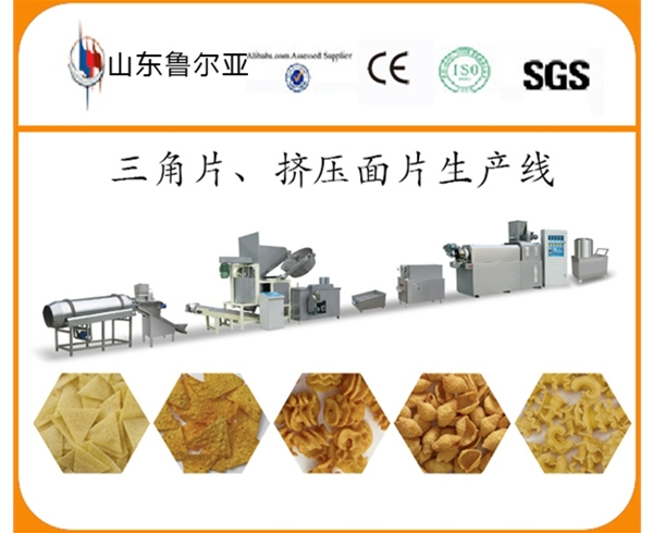 Sip-model Corn Chips Processing Line