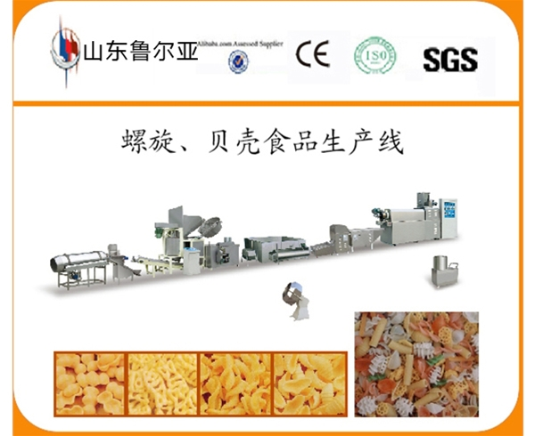 Screw, Shell Food Processing Line