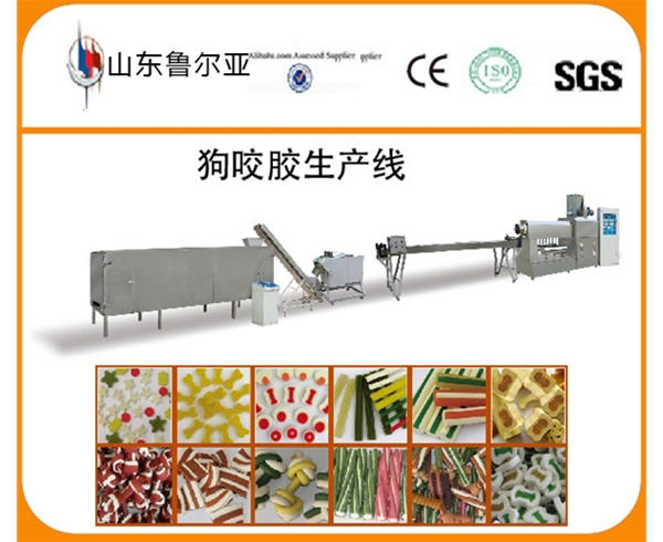 Chewing food production line